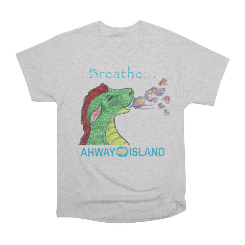 Dragon's Breath Merchandise Men's Heavyweight T-Shirt by ahwayisland's Artist Shop