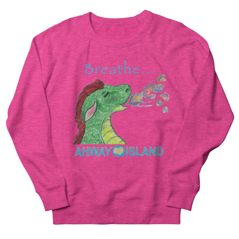 Dragon's Breath Merchandise Men's French Terry Sweatshirt by ahwayisland's Artist Shop