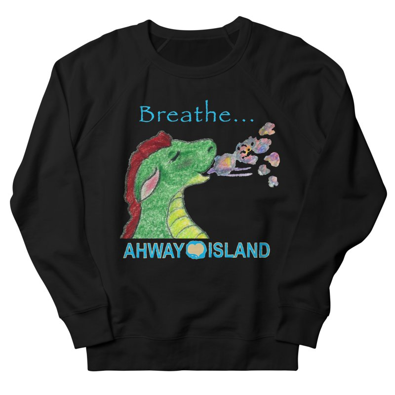 Dragon's Breath Merchandise Men's French Terry Sweatshirt by ahwayisland's Artist Shop