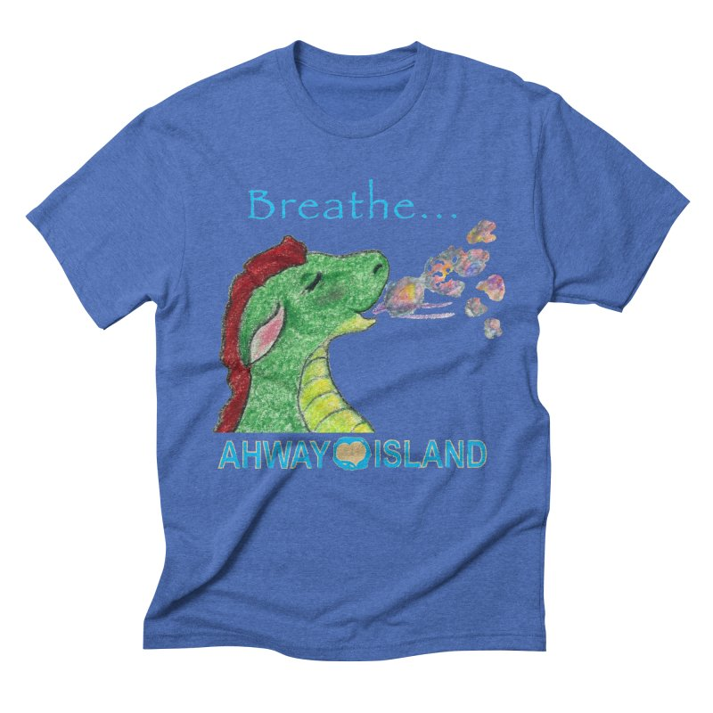 Dragon's Breath Merchandise Men's Triblend T-Shirt by ahwayisland's Artist Shop