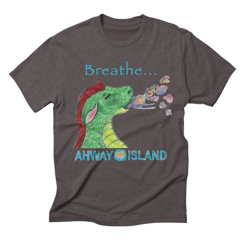 Dragon's Breath Men's Triblend T-Shirt by ahwayisland's Artist Shop