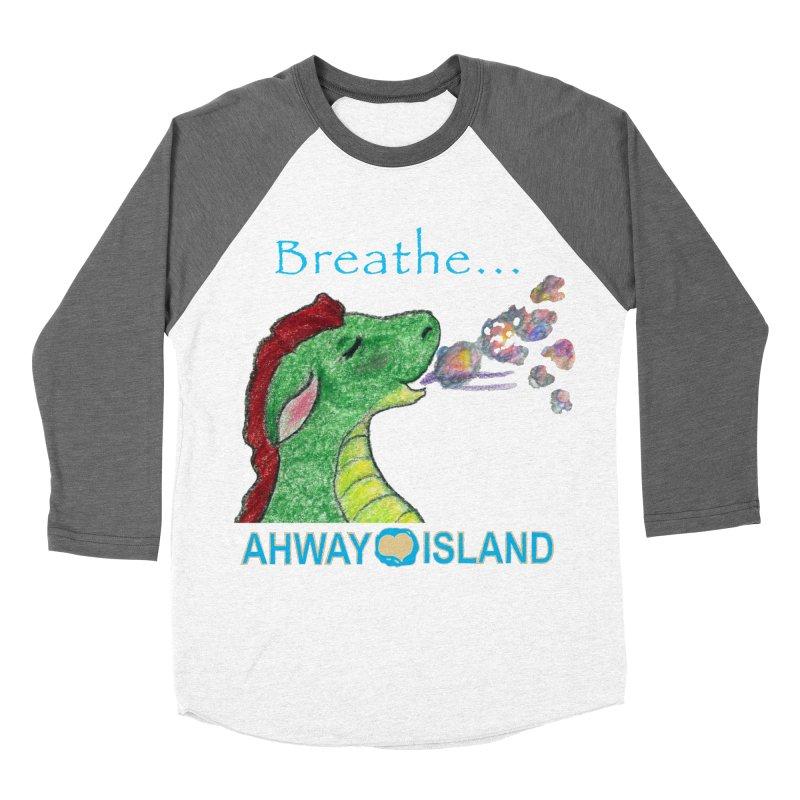 Dragon's Breath Men's Baseball Triblend Longsleeve T-Shirt by ahwayisland's Artist Shop