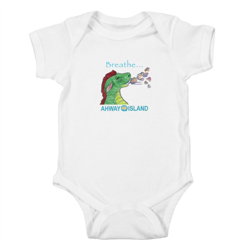 Dragon's Breath Merchandise Kids Baby Bodysuit by ahwayisland's Artist Shop
