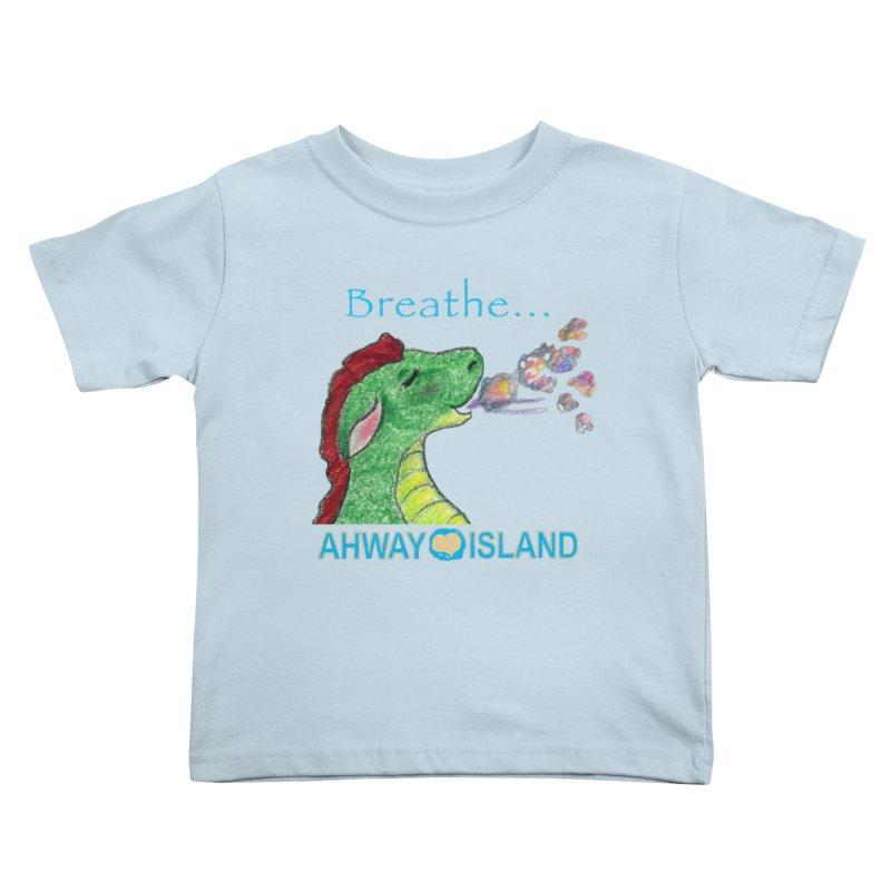 Dragon's Breath Merchandise Kids Toddler T-Shirt by ahwayisland's Artist Shop