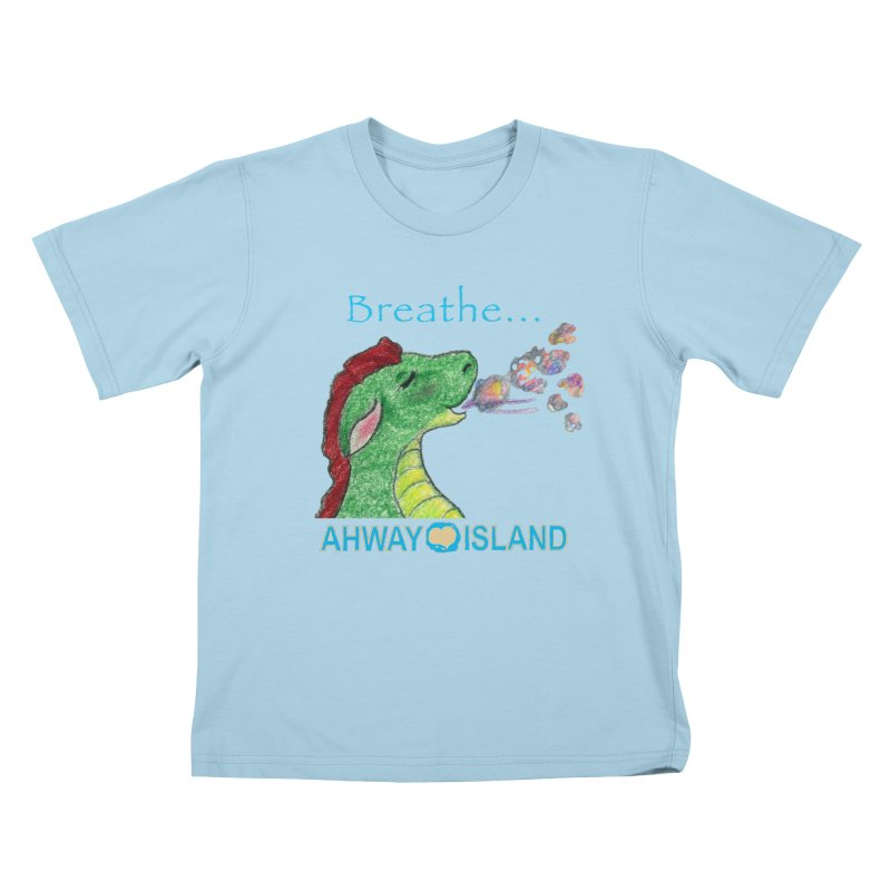 Dragon's Breath Merchandise Kids T-Shirt by ahwayisland's Artist Shop