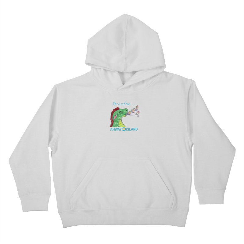 Dragon's Breath Merchandise Kids Pullover Hoody by ahwayisland's Artist Shop