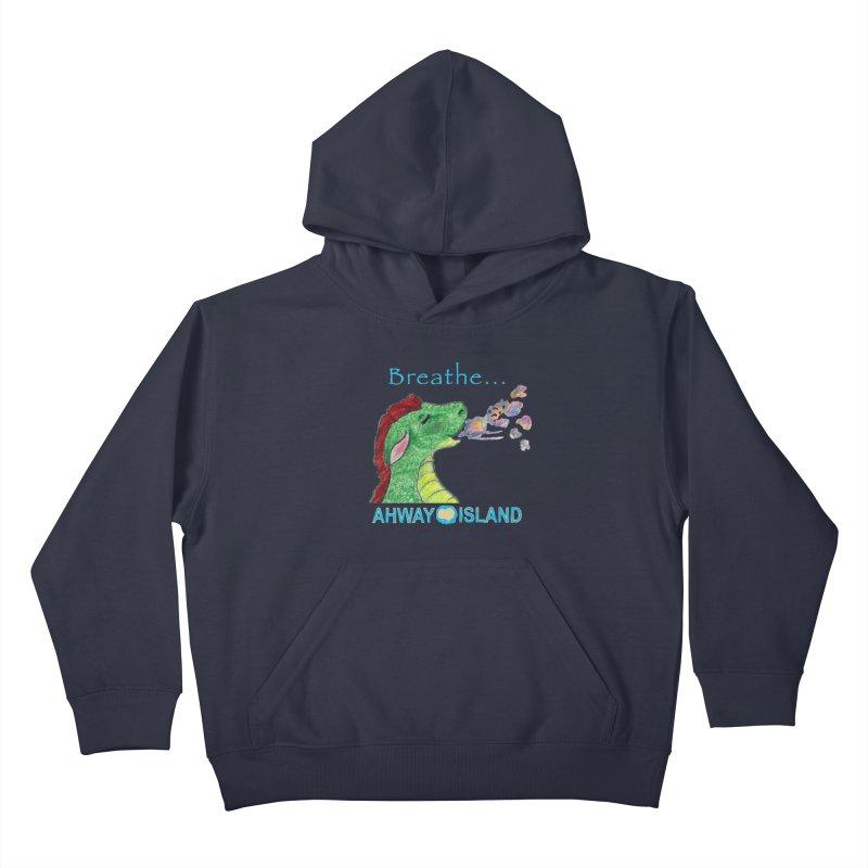 Dragon's Breath Kids Pullover Hoody by ahwayisland's Artist Shop