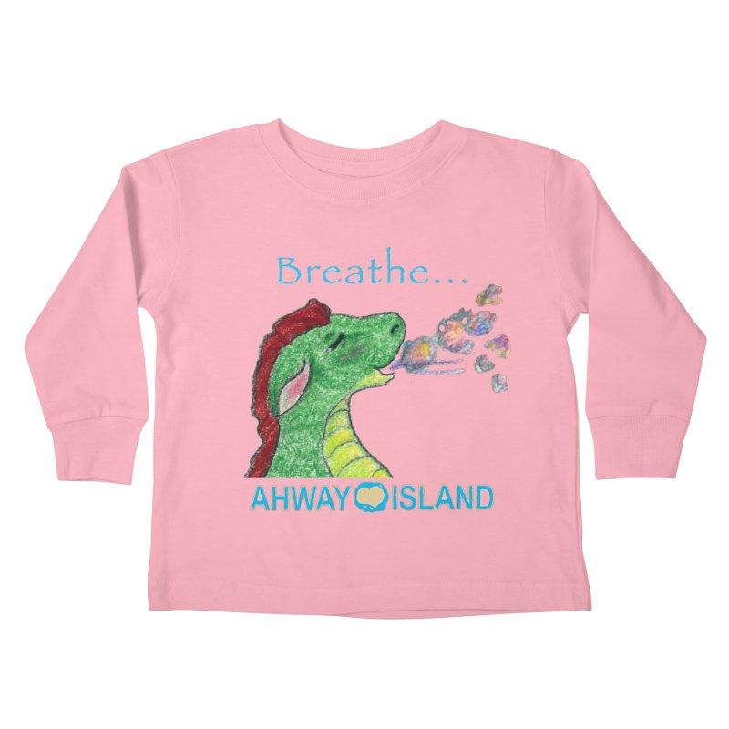 Dragon's Breath Merchandise Kids Toddler Longsleeve T-Shirt by ahwayisland's Artist Shop