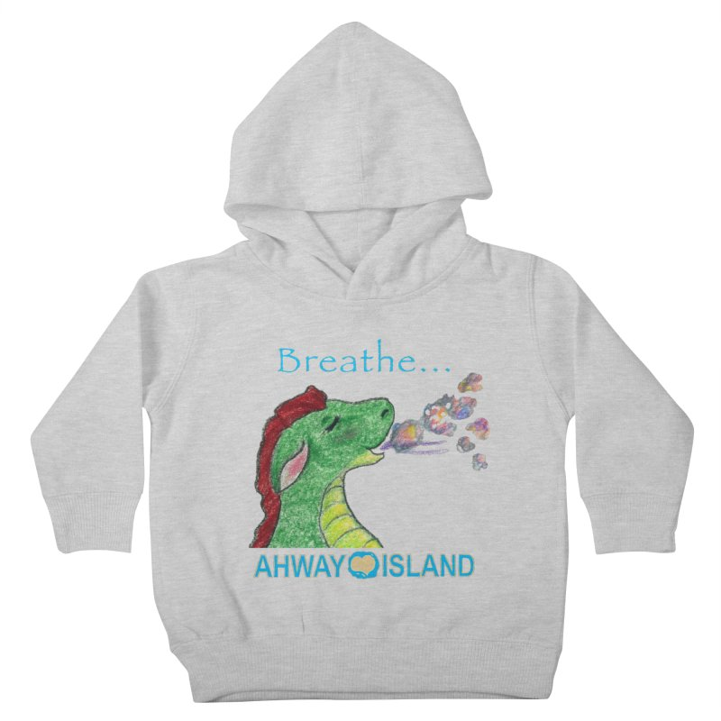 Dragon's Breath Merchandise Kids Toddler Pullover Hoody by ahwayisland's Artist Shop