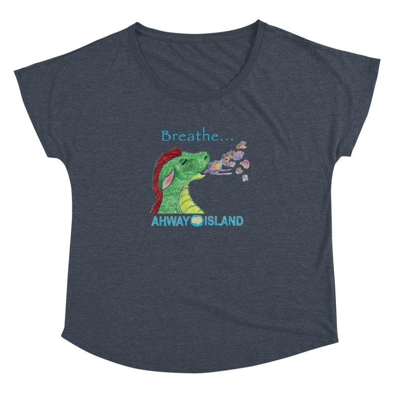 Dragon's Breath Merchandise Women's Dolman Scoop Neck by ahwayisland's Artist Shop