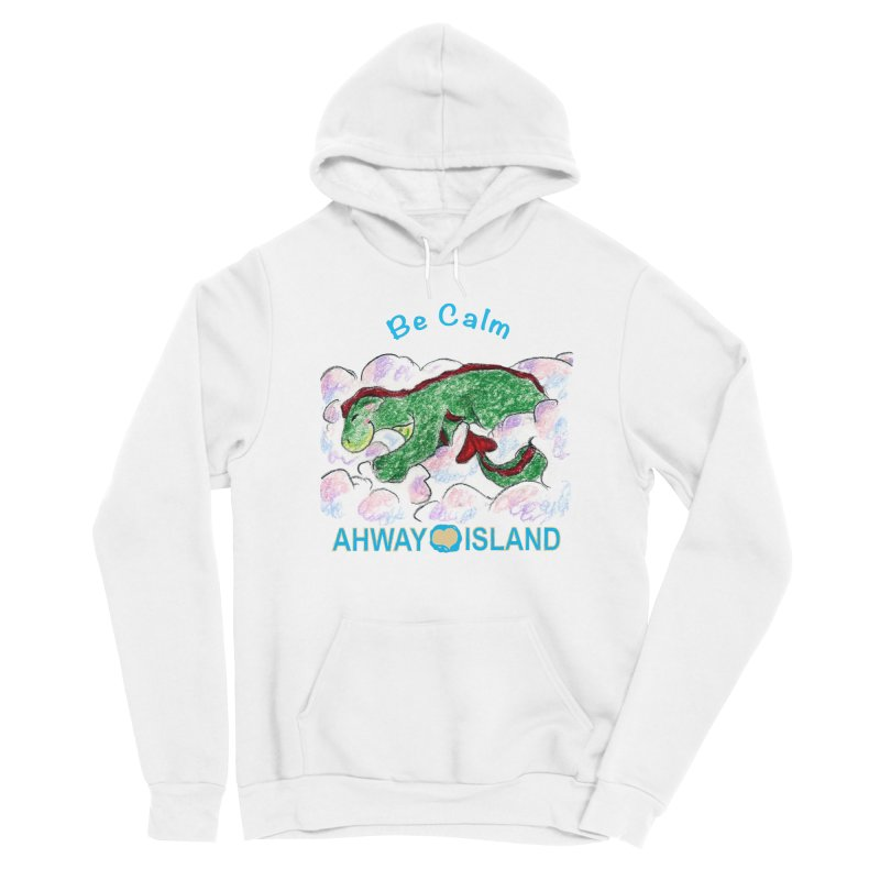 Be Calm Dragon Men's Pullover Hoody by ahwayisland's Artist Shop