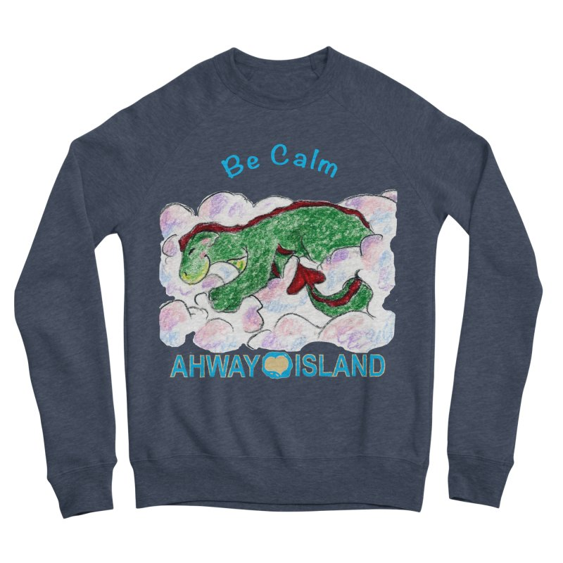 Be Calm Dragon Women's Sponge Fleece Sweatshirt by ahwayisland's Artist Shop