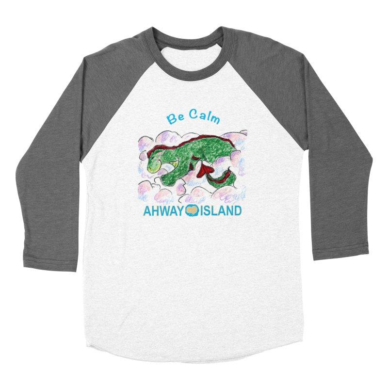 Be Calm Dragon Women's Longsleeve T-Shirt by ahwayisland's Artist Shop