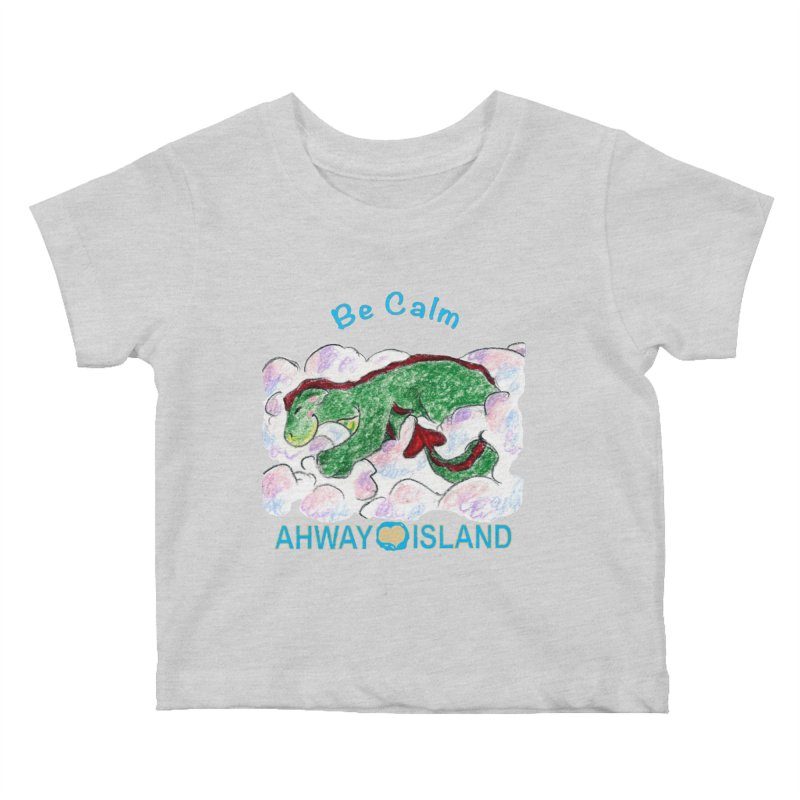 Be Calm Dragon Kids Baby T-Shirt by ahwayisland's Artist Shop