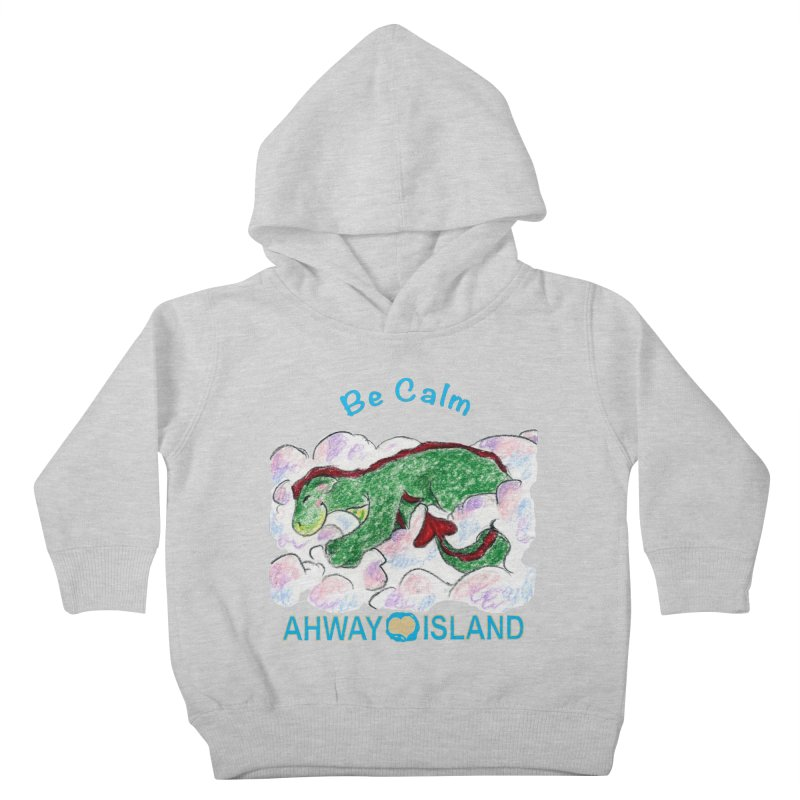 Be Calm Dragon Kids Toddler Pullover Hoody by ahwayisland's Artist Shop