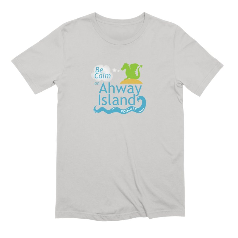 Be Calm on Ahway Island Merchandise Men's Extra Soft T-Shirt by ahwayisland's Artist Shop