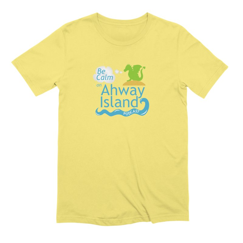 Ahway Island Merchandise Men's Extra Soft T-Shirt by ahwayisland's Artist Shop