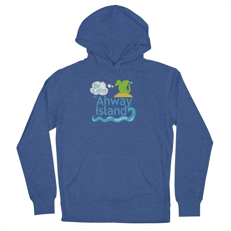 Ahway Island Merchandise Men's French Terry Pullover Hoody by ahwayisland's Artist Shop