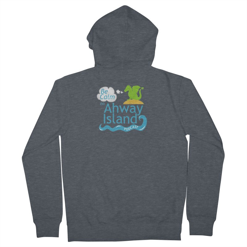 Ahway Island Merchandise Women's French Terry Zip-Up Hoody by ahwayisland's Artist Shop