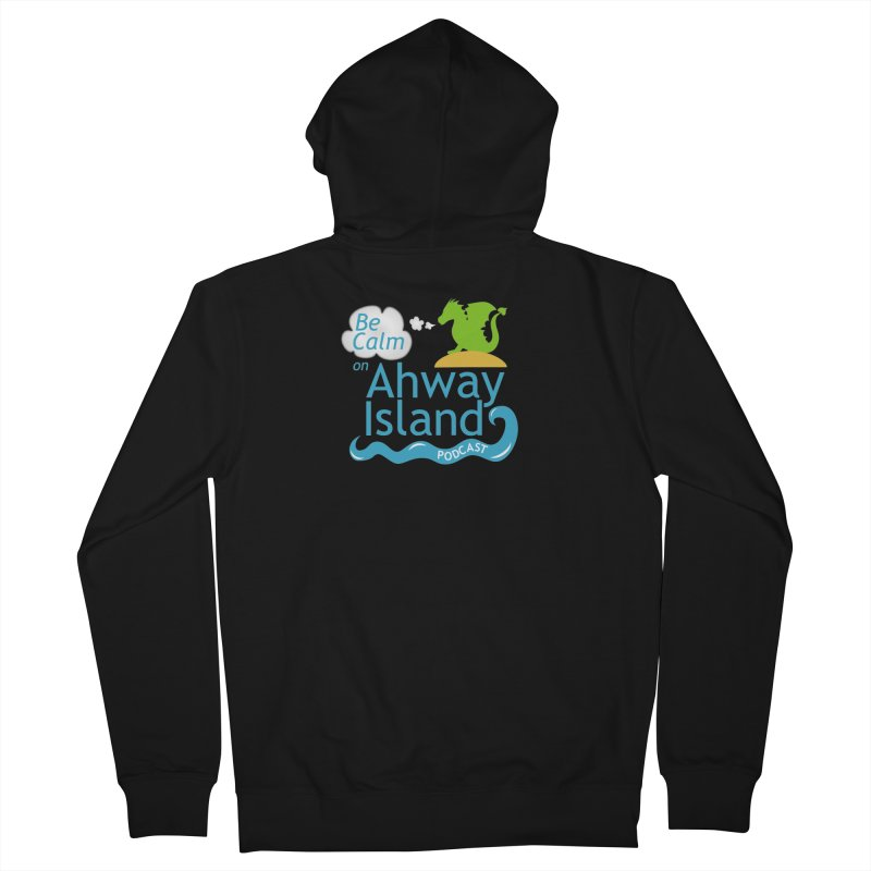 Be Calm on Ahway Island Merchandise Men's French Terry Zip-Up Hoody by ahwayisland's Artist Shop