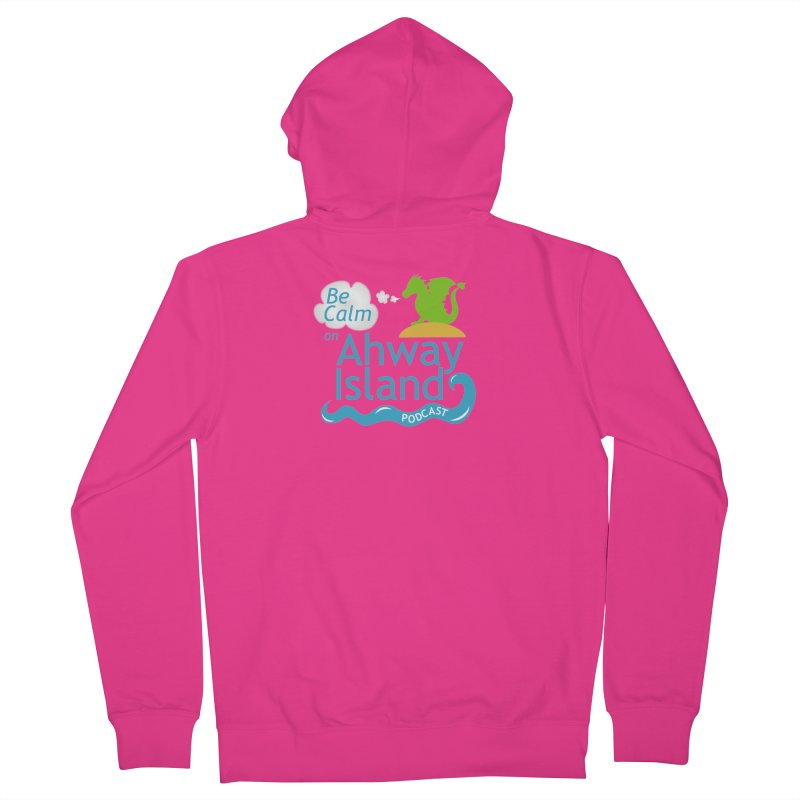 Ahway Island Merchandise Men's French Terry Zip-Up Hoody by ahwayisland's Artist Shop