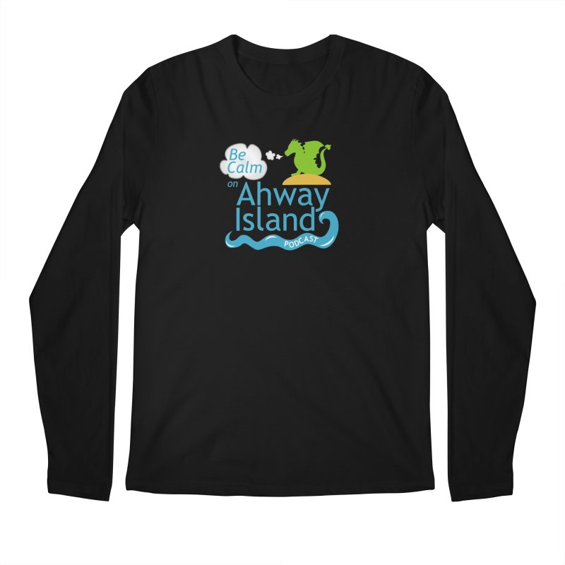 Ahway Island Merchandise Men's Regular Longsleeve T-Shirt by ahwayisland's Artist Shop