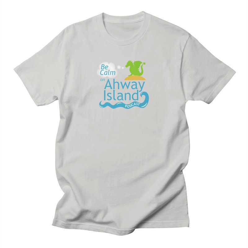 Be Calm on Ahway Island Merchandise Men's T-Shirt by ahwayisland's Artist Shop