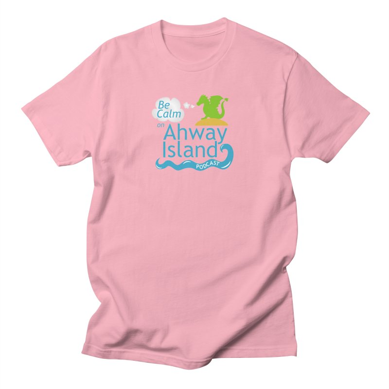 Be Calm on Ahway Island Merchandise Men's Regular T-Shirt by ahwayisland's Artist Shop