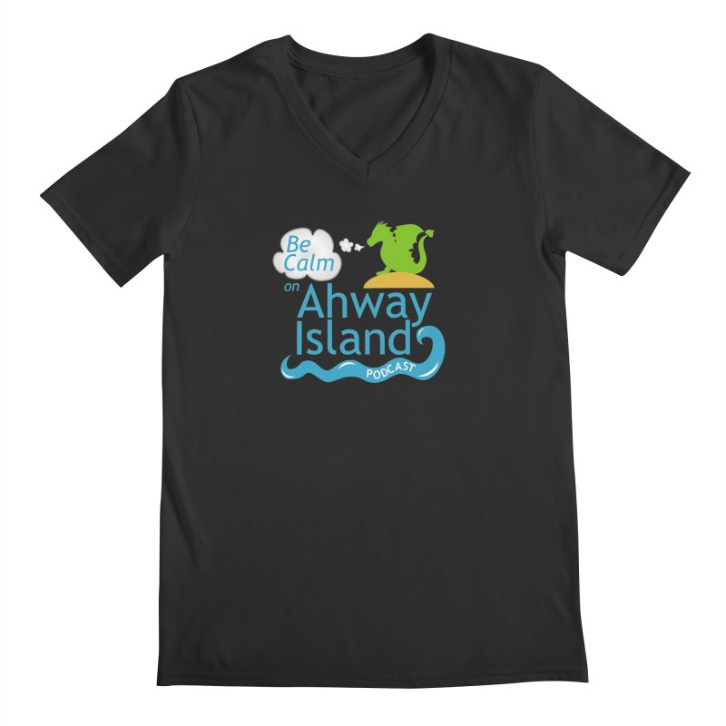 Ahway Island Merchandise Men's Regular V-Neck by ahwayisland's Artist Shop