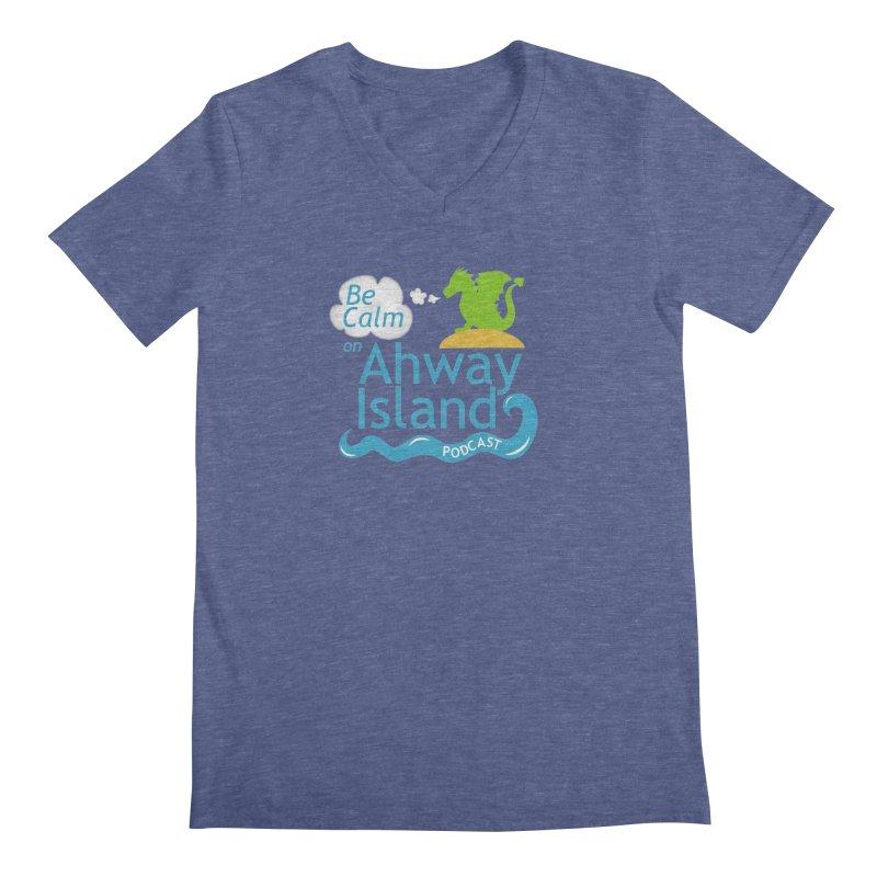Ahway Island Merchandise Men's Regular V-Neck by ahwayisland's Artist Shop