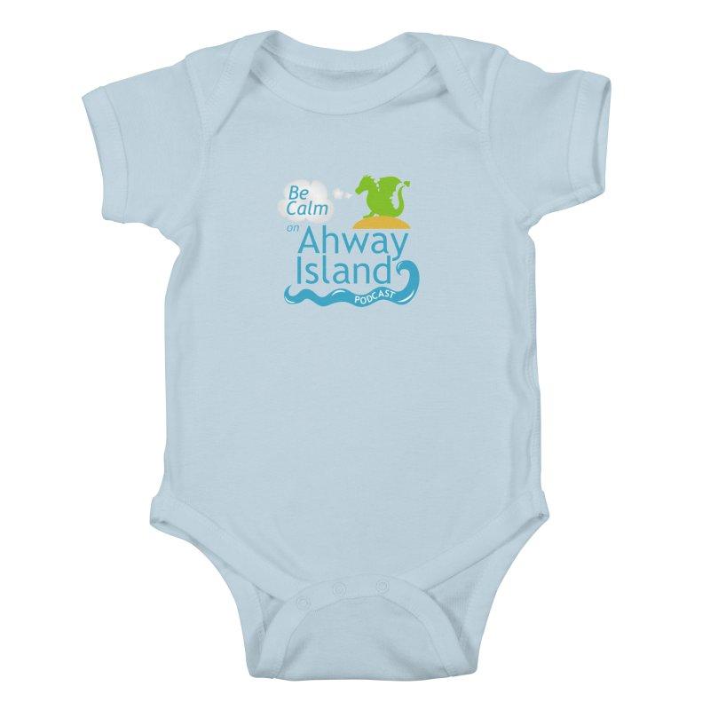 Ahway Island Merchandise Kids Baby Bodysuit by ahwayisland's Artist Shop