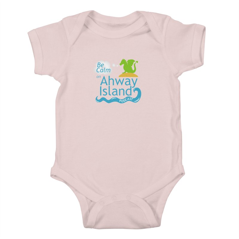Ahway Island Merchandise Kids Baby Bodysuit by ahwayisland's Artist Shop