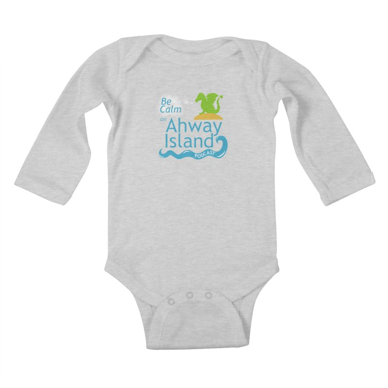 Ahway Island Merchandise Kids Baby Longsleeve Bodysuit by ahwayisland's Artist Shop