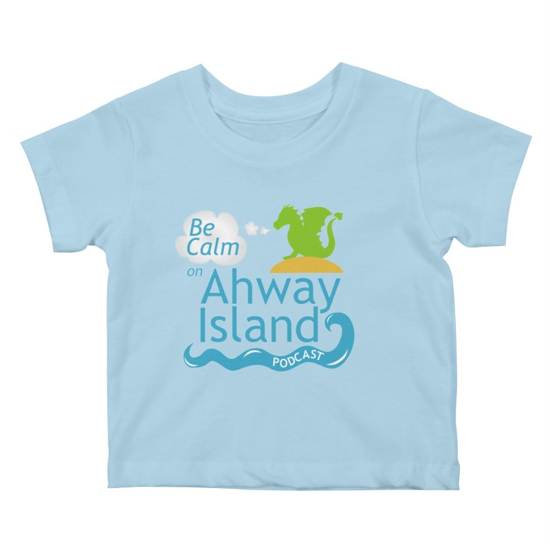 Ahway Island Merchandise Kids Baby T-Shirt by ahwayisland's Artist Shop