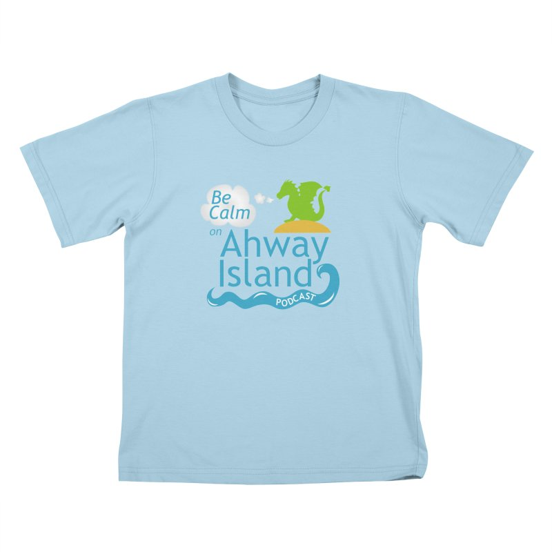 Ahway Island Merchandise Kids T-Shirt by ahwayisland's Artist Shop