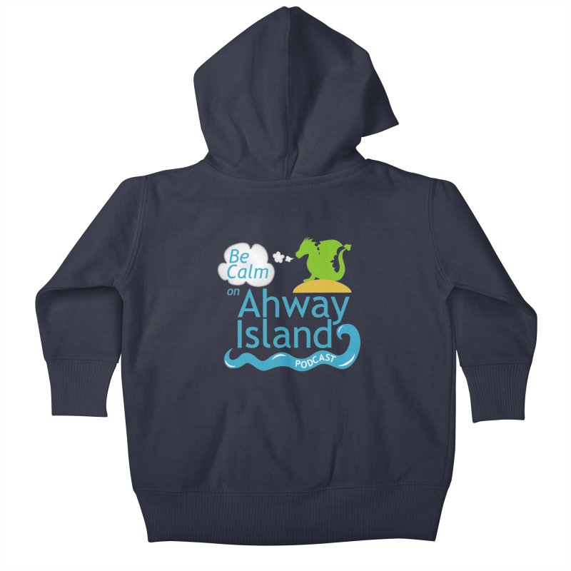 Ahway Island Merchandise Kids Baby Zip-Up Hoody by ahwayisland's Artist Shop