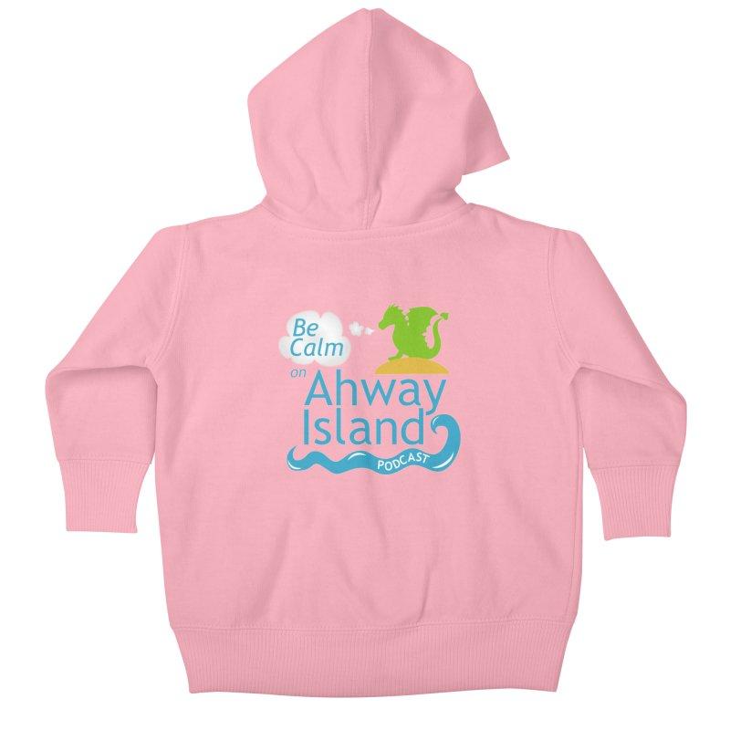 Ahway Island Merchandise Kids Baby Zip-Up Hoody by ahwayisland's Artist Shop