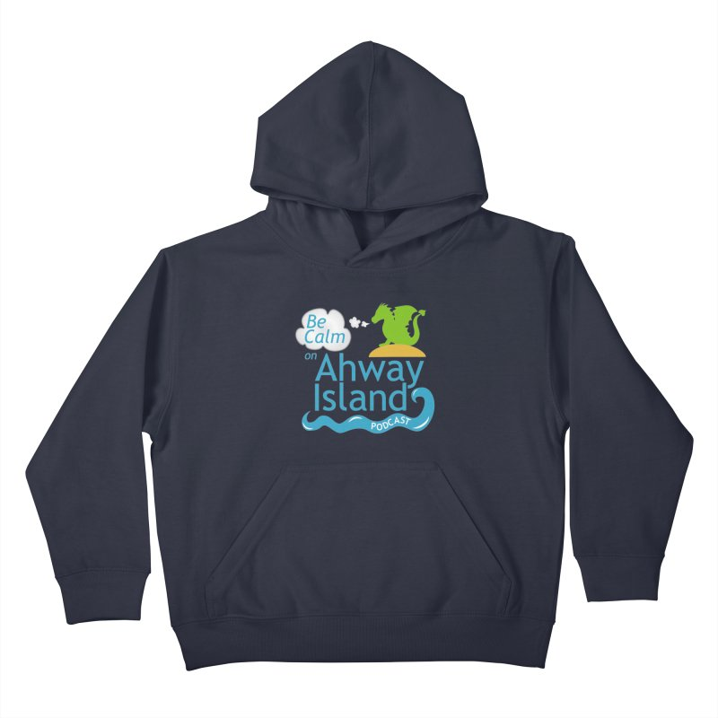 Ahway Island Merchandise Kids Pullover Hoody by ahwayisland's Artist Shop