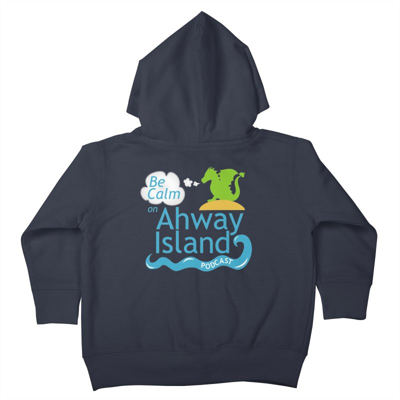 Ahway Island Merchandise Kids Toddler Zip-Up Hoody by ahwayisland's Artist Shop