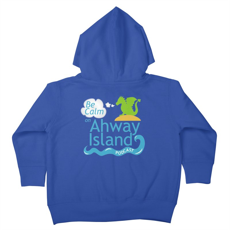 Ahway Island Merchandise Kids Toddler Zip-Up Hoody by ahwayisland's Artist Shop