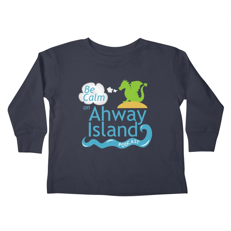 Ahway Island Merchandise Kids Toddler Longsleeve T-Shirt by ahwayisland's Artist Shop