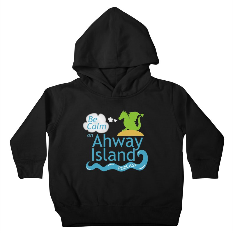 Ahway Island Merchandise Kids Toddler Pullover Hoody by ahwayisland's Artist Shop