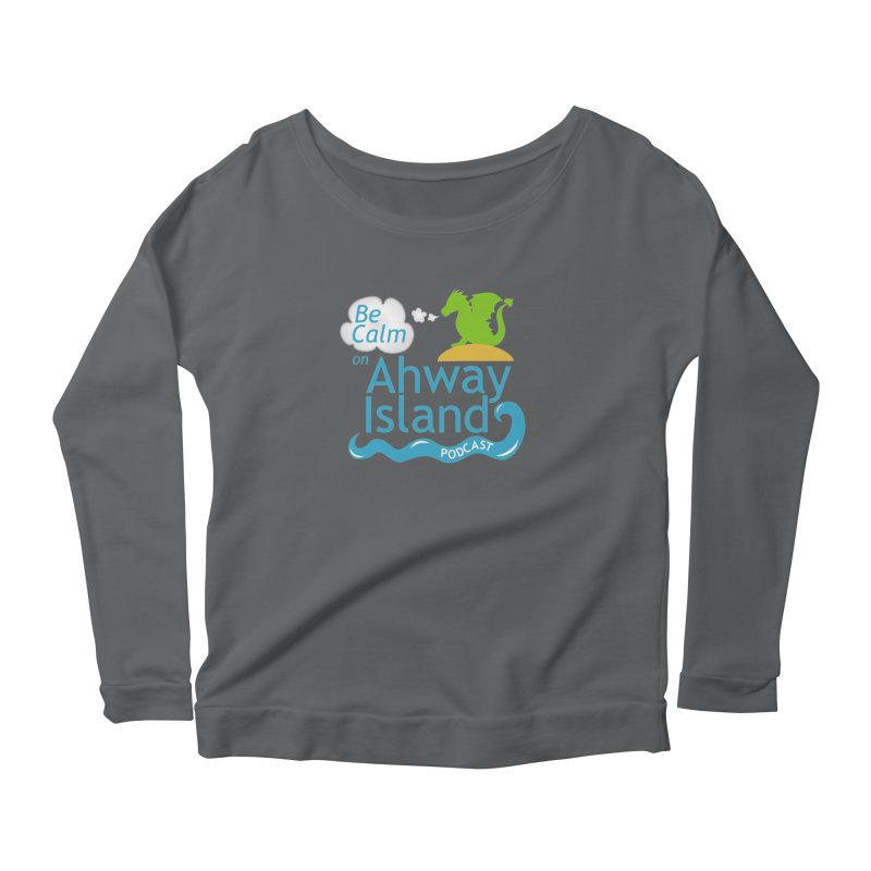 Be Calm on Ahway Island Merchandise Women's Longsleeve T-Shirt by ahwayisland's Artist Shop
