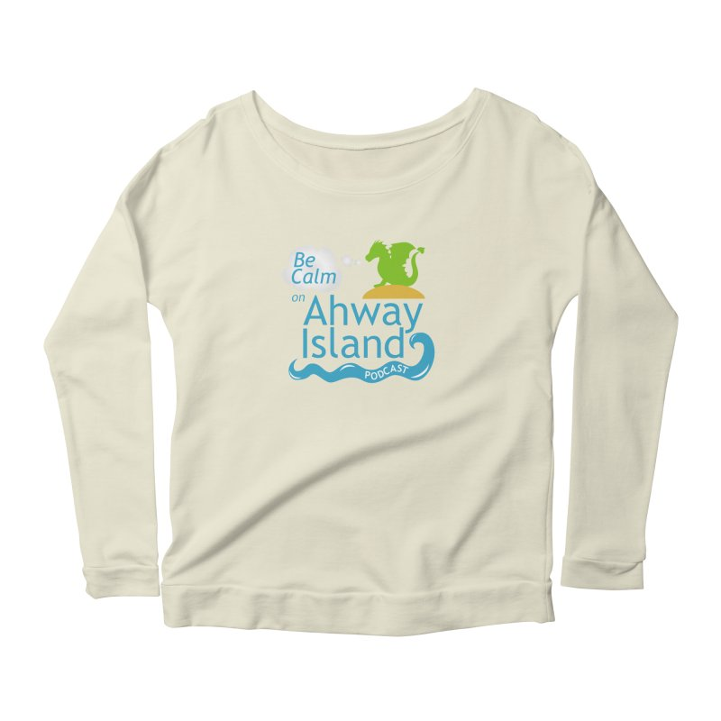 Ahway Island Merchandise Women's Scoop Neck Longsleeve T-Shirt by ahwayisland's Artist Shop
