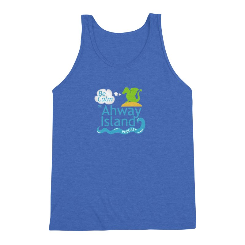 Ahway Island Merchandise Men's Triblend Tank by ahwayisland's Artist Shop