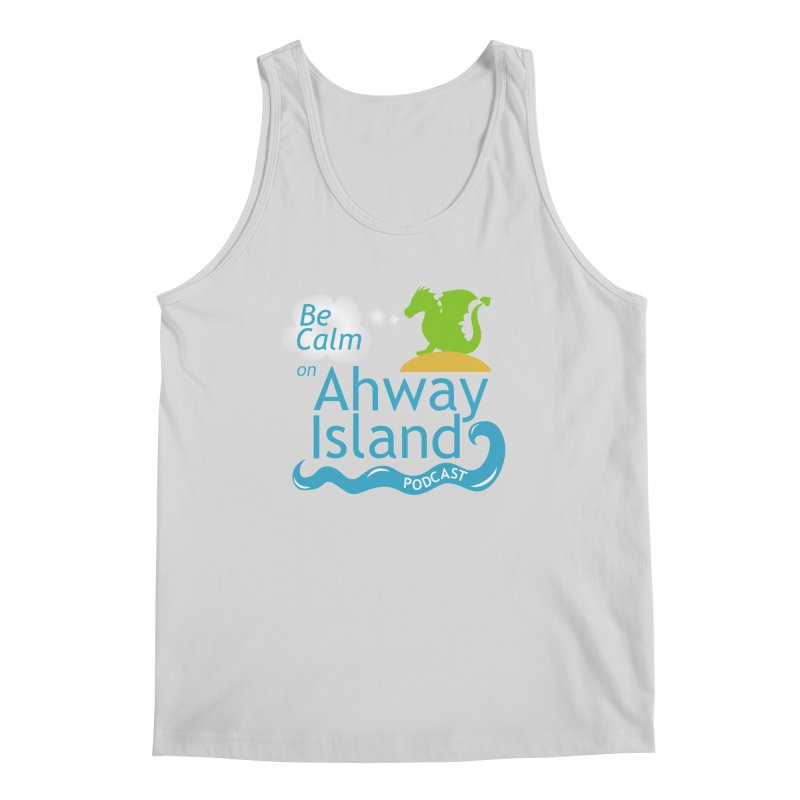 Be Calm on Ahway Island Merchandise Men's Regular Tank by ahwayisland's Artist Shop