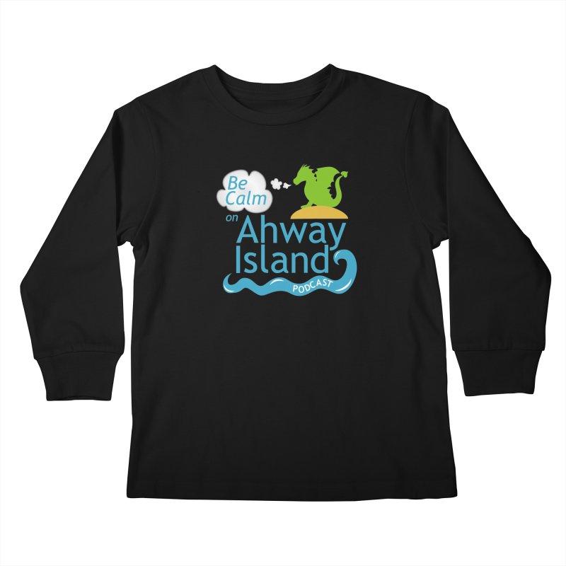 Ahway Island Merchandise Kids Longsleeve T-Shirt by ahwayisland's Artist Shop