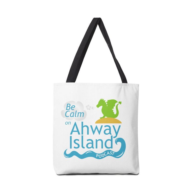 Ahway Island Merchandise Accessories Tote Bag Bag by ahwayisland's Artist Shop