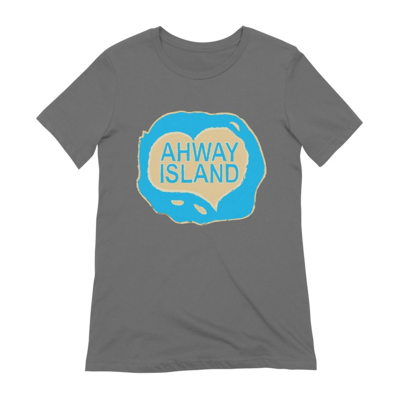 Welcome to Ahway Island Merchandise Women's Extra Soft T-Shirt by ahwayisland's Artist Shop