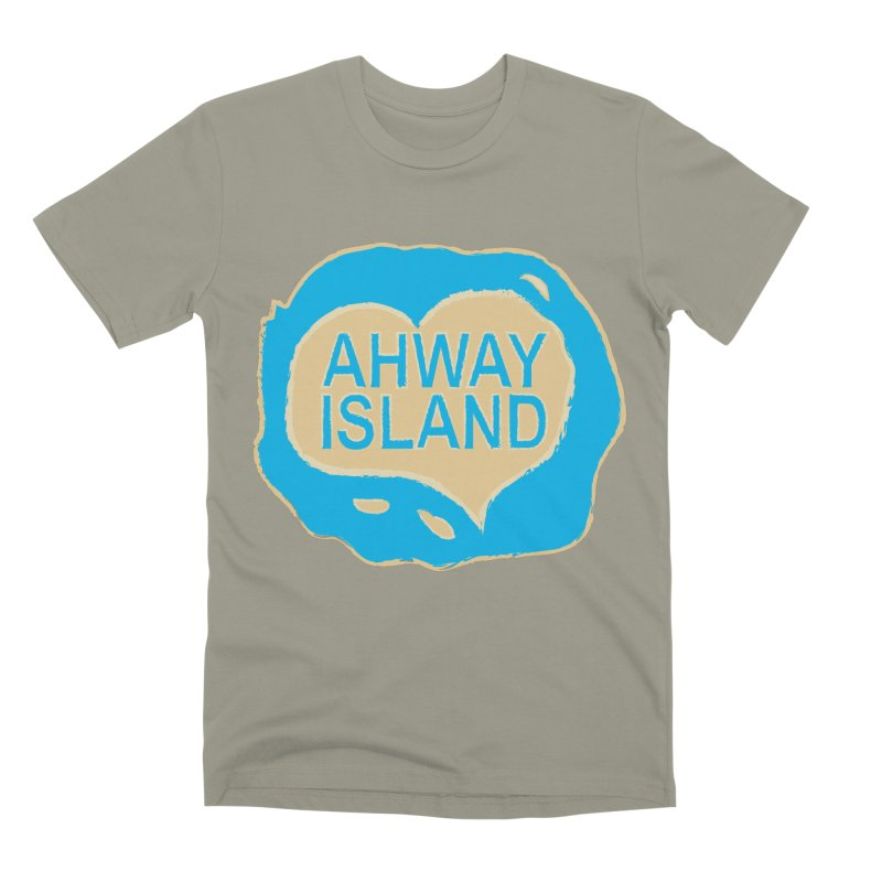 Welcome to Ahway Island Merchandise Men's Premium T-Shirt by ahwayisland's Artist Shop